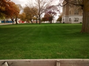 Courthouse Lawn, Kansas